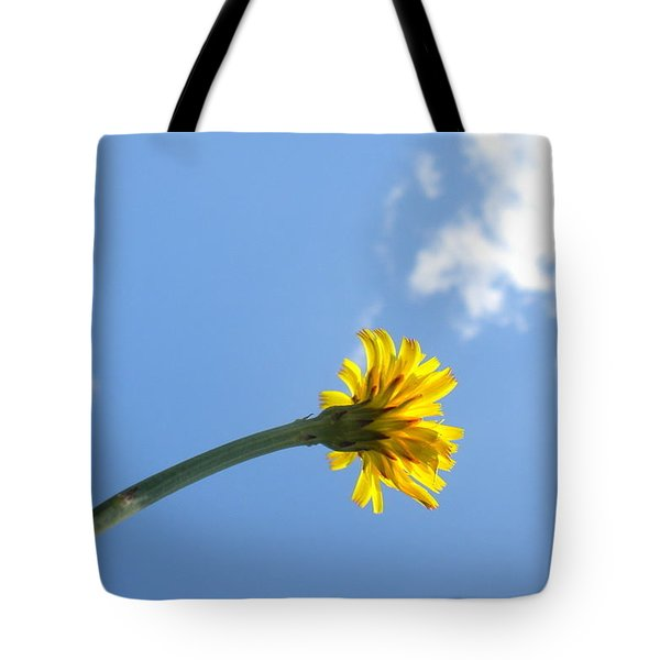 Tote Bag featuring the photograph Mommy's 1st Flower by Diannah Lynch