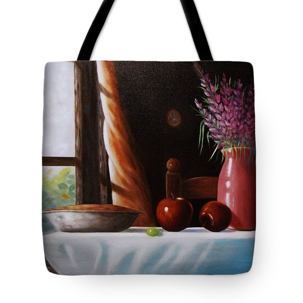 Mom's Apple Pie  Tote Bag by Gene Gregory
