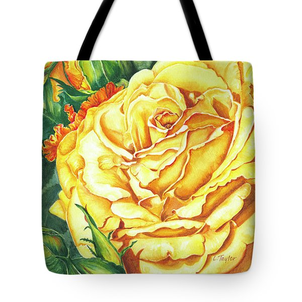 Mom's Golden Glory Tote Bag