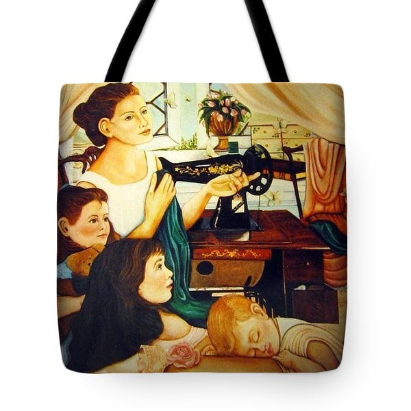 Mom's Sewing Room  Tote Bag