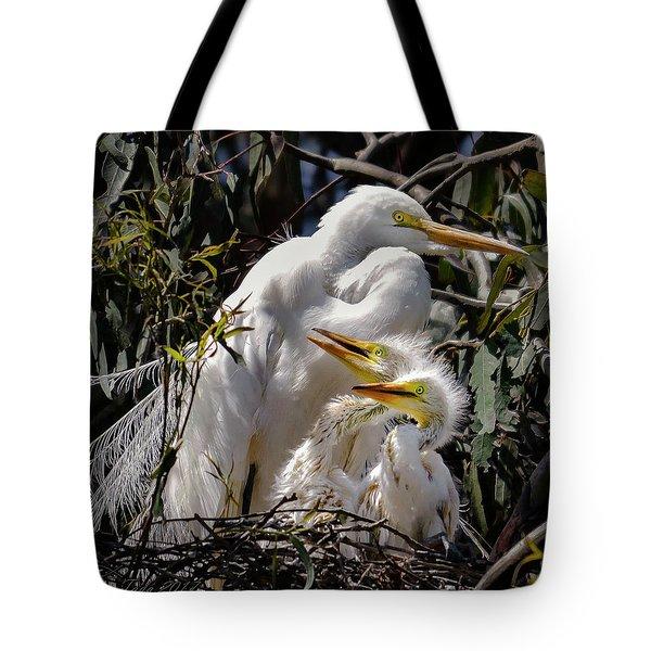 Mom's Watchful Eye Tote Bag