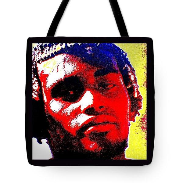 Tote Bag featuring the photograph Mon Homme Denali by Peter Gumaer Ogden