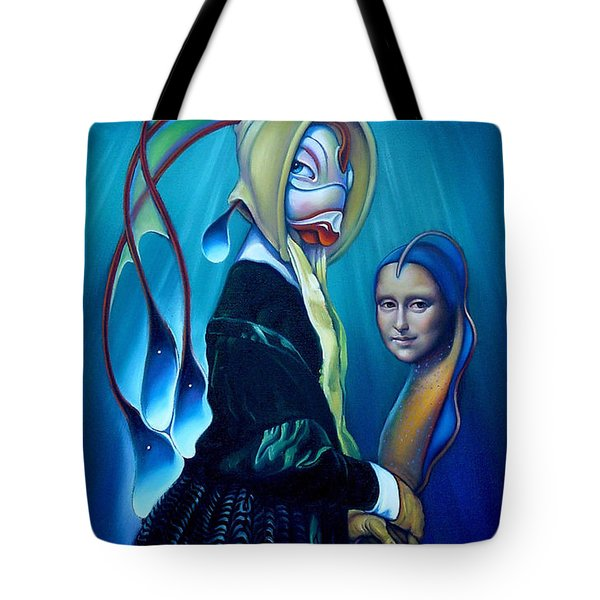 Mona Eelsa Tote Bag by Patrick Anthony Pierson