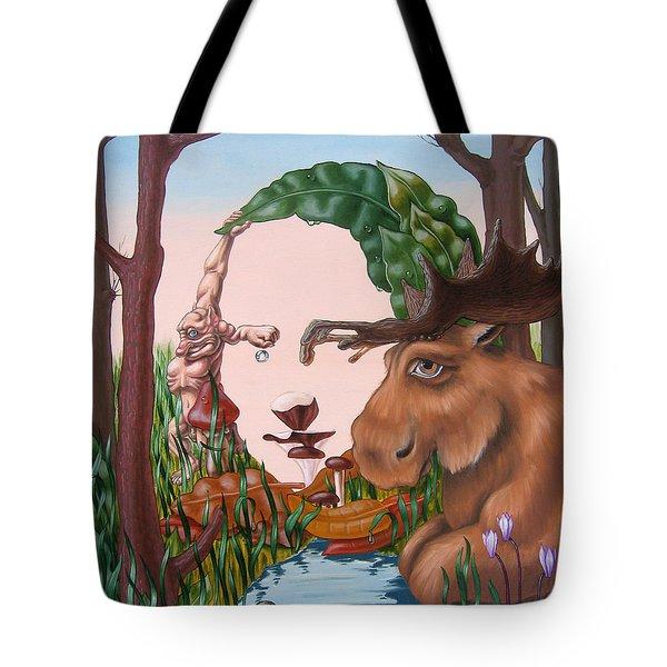 Mona Lisa . Earth Tote Bag