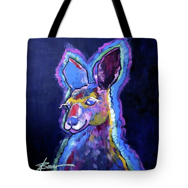 Mona Lisa 'roo Tote Bag