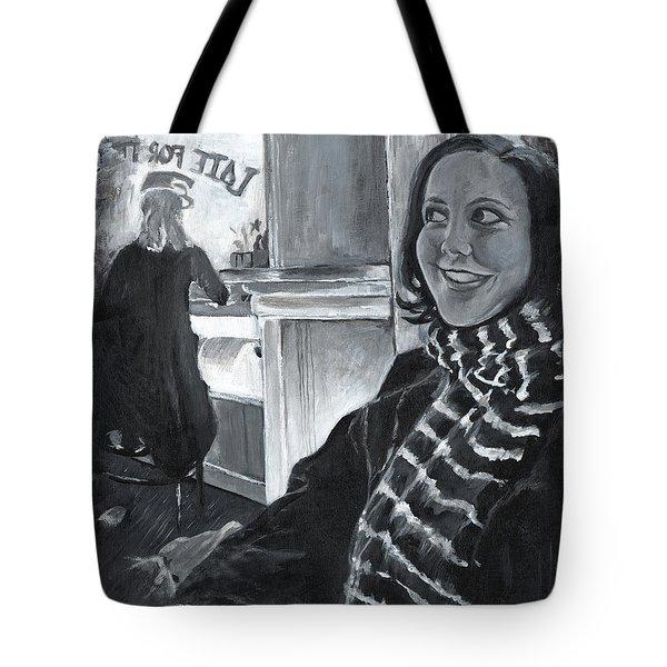 Mona Sandra  Tote Bag