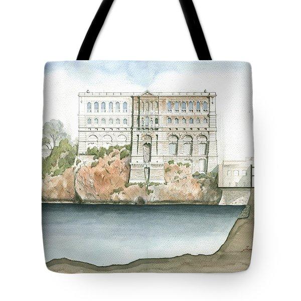 Monaco Oceanographic Museum Tote Bag