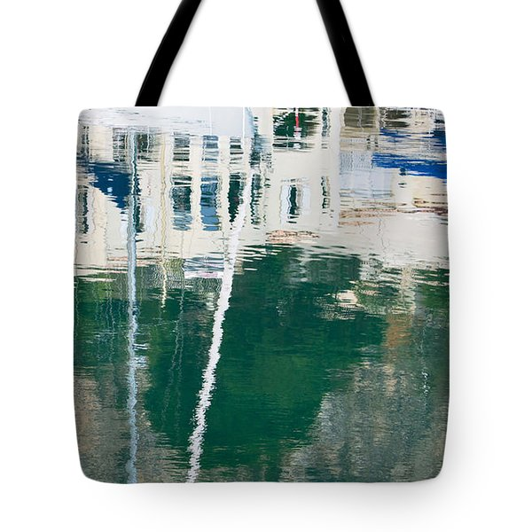 Tote Bag featuring the photograph Monaco Reflection by Keith Armstrong