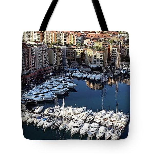 Monaco Tote Bag by Tom Prendergast