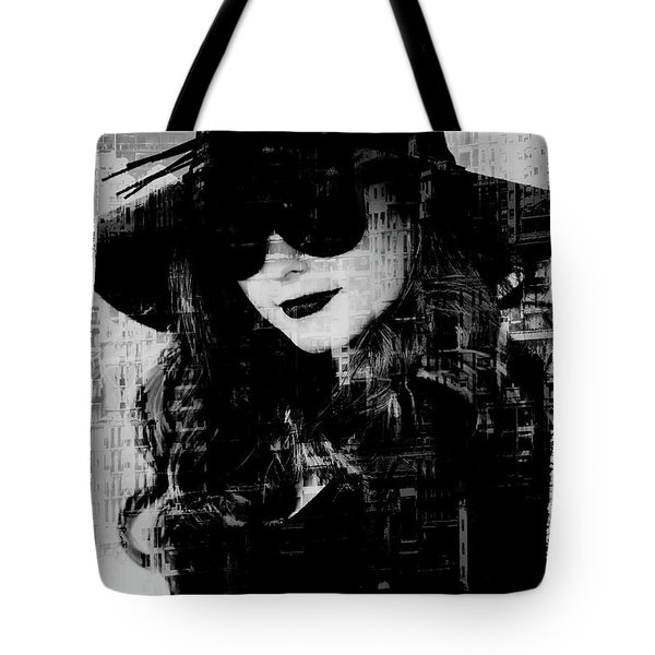 Monaco Woman Tote Bag by Chris Armytage