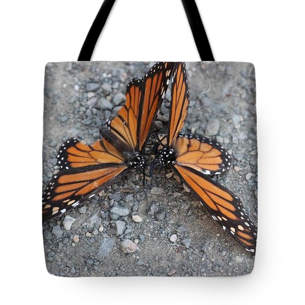 Monarch Afterglow Tote Bag