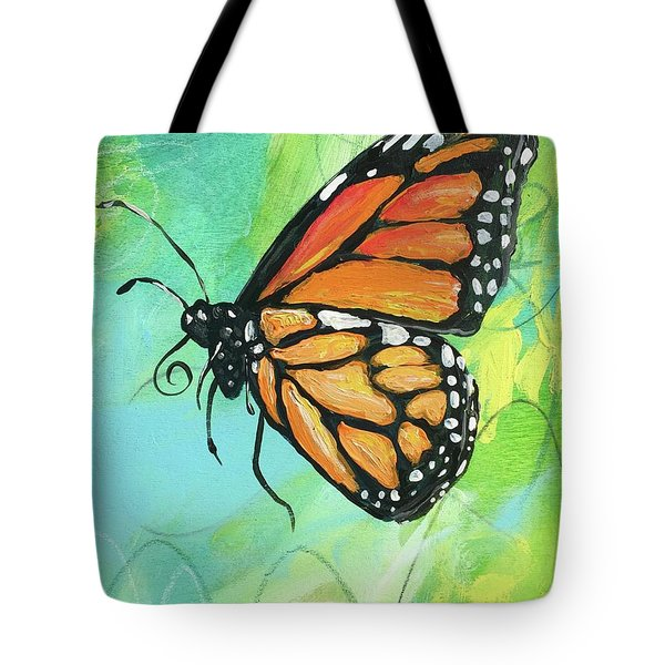 Monarch Dreams Tote Bag by Kim Heil