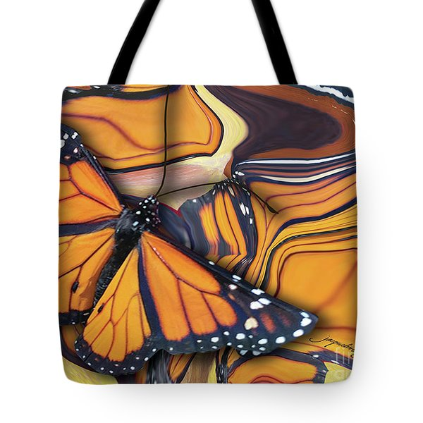 Monarch Flight Tote Bag