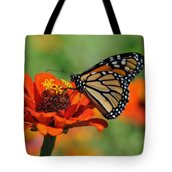 Monarch Glow Tote Bag