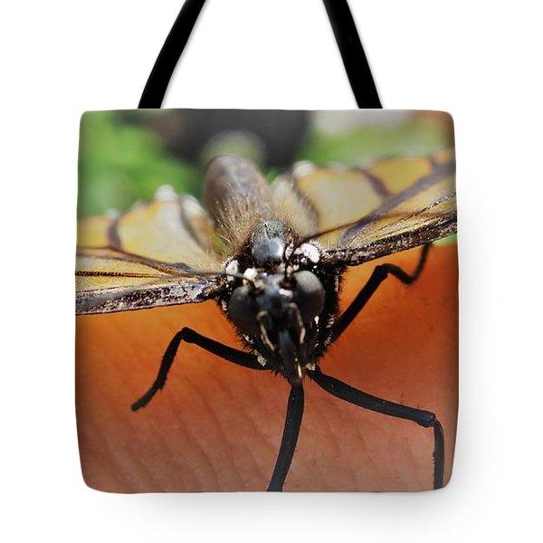Monarch Greeting Tote Bag