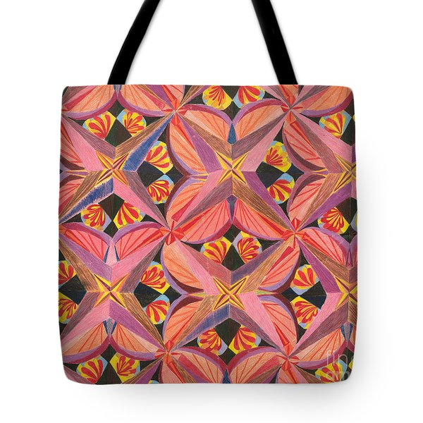Tote Bag featuring the drawing Monarch by Kim Sy Ok