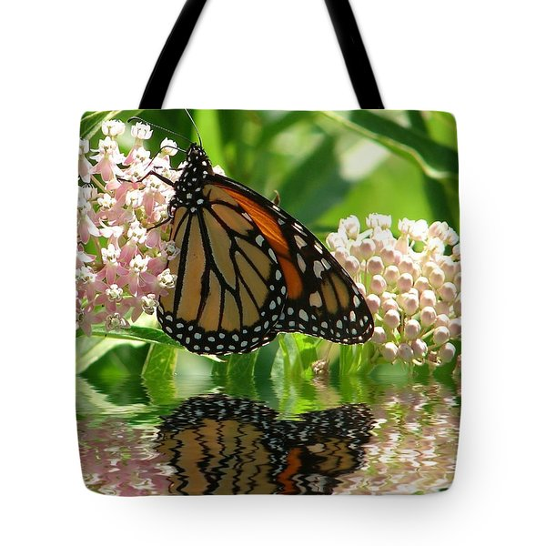 Monarch Lunch Tote Bag by Rick Friedle