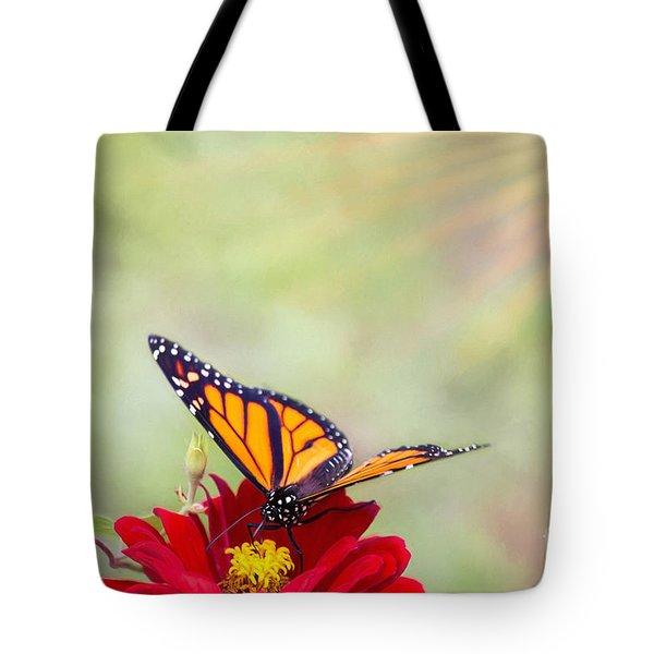 Monarch Magic Tote Bag