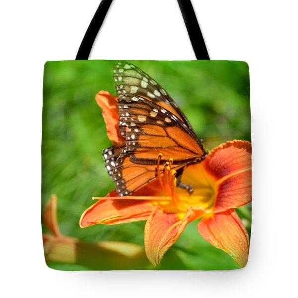 Monarch Minutes Tote Bag