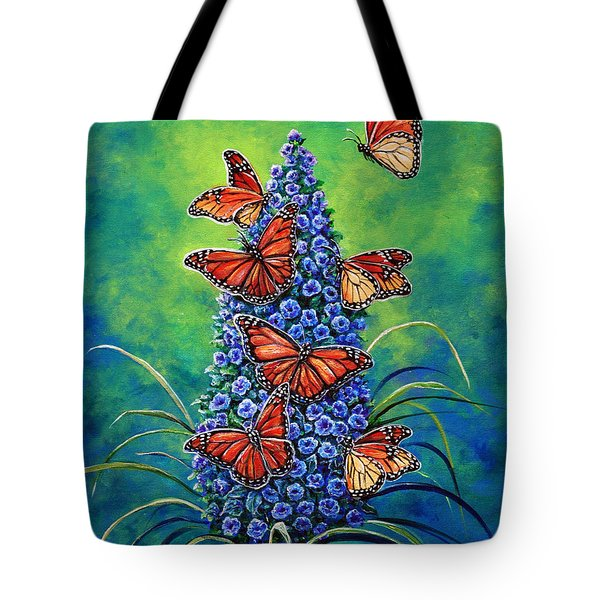 Monarch Waystation Tote Bag