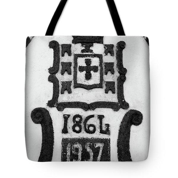 Monarchy Symbols Tote Bag by Gaspar Avila