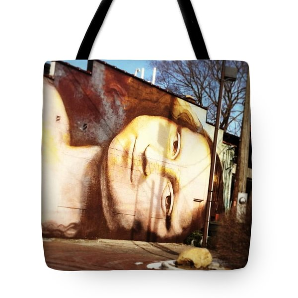 Mona's Facial Expression Tote Bag