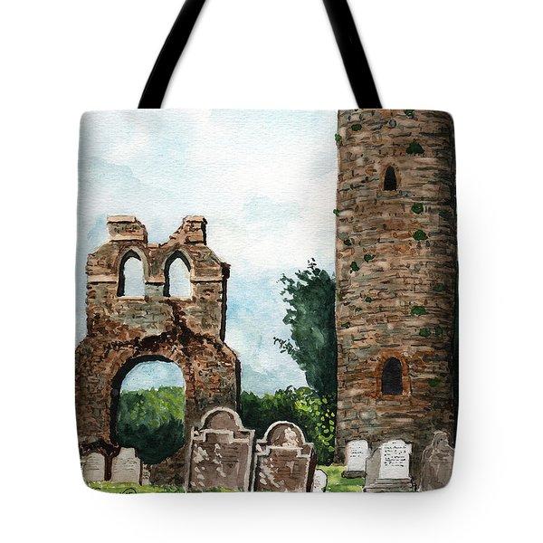 Monasterboice Ruins Ireland Tote Bag