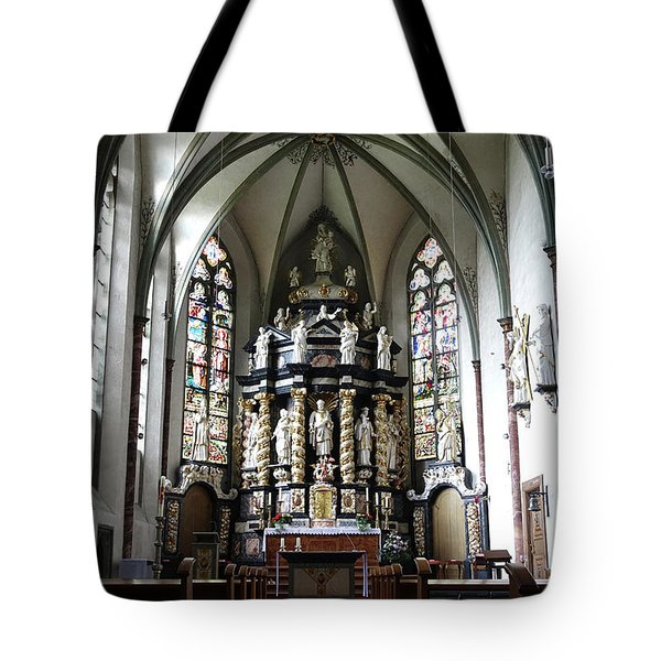 Monastery Church Oelinghausen, Germany Tote Bag