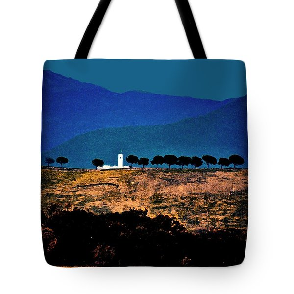 Monastery In Italy Tote Bag