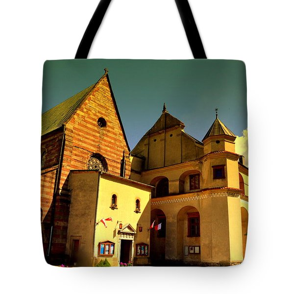 Monastery In The Wachock/poland Tote Bag