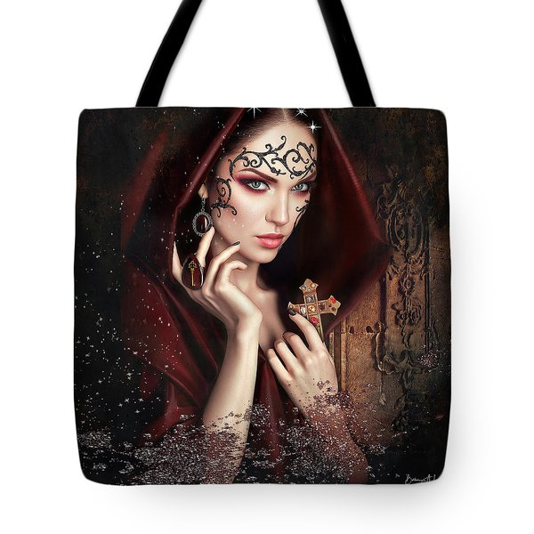 Monastery Secrets Tote Bag