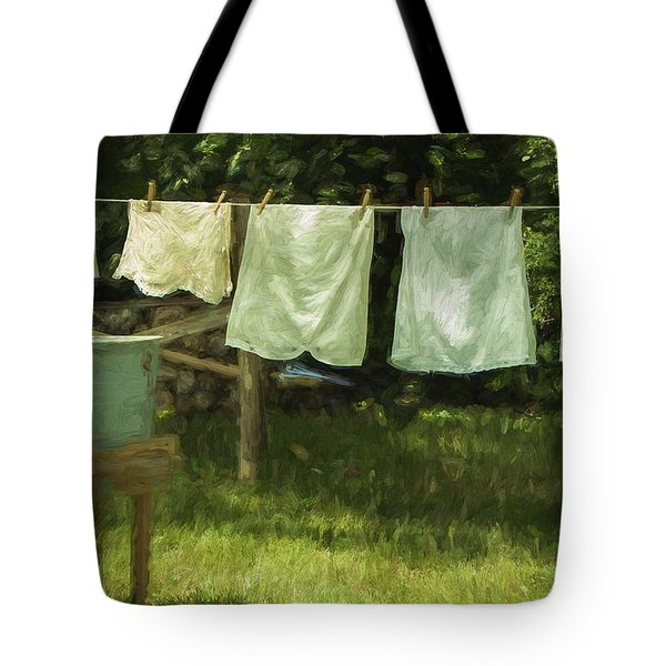 Monday Was Wash Day Tote Bag