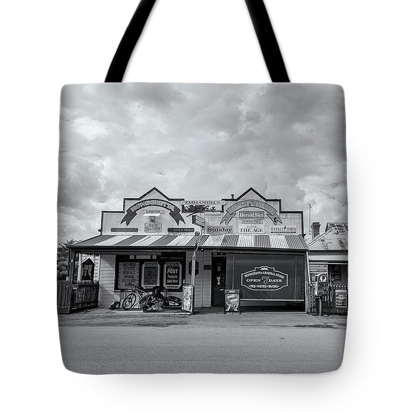 Tote Bag featuring the photograph Monegeetta General Store by Linda Lees