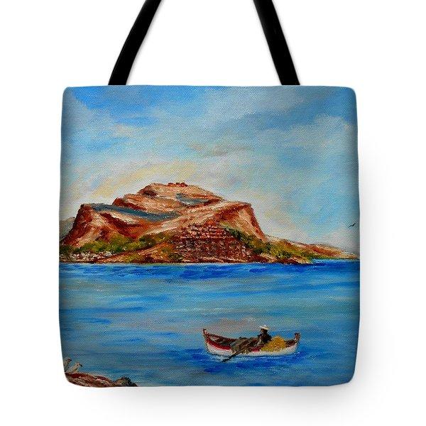 Monemvasia Tote Bag