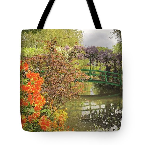 Monet Park Tote Bag