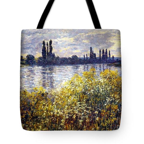 Monet: Seine/vetheil, 1880 Tote Bag by Granger