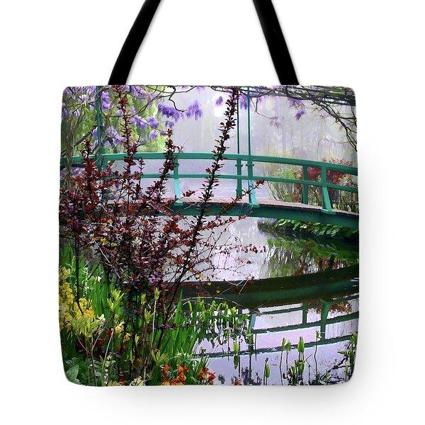 Monet's Bridge Tote Bag