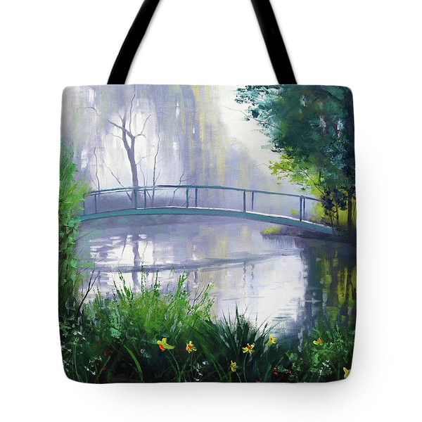 Monet's Garden  Tote Bag