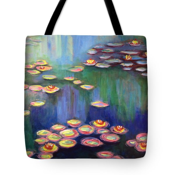 Monet's Lily Pads Tote Bag