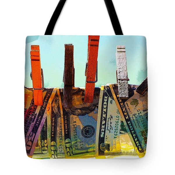 Money Laundering  Tote Bag
