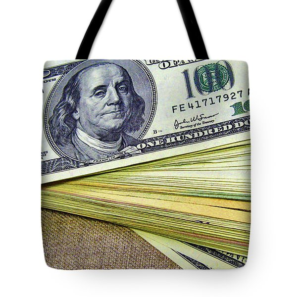 Money. Love. Canvas. Tote Bag