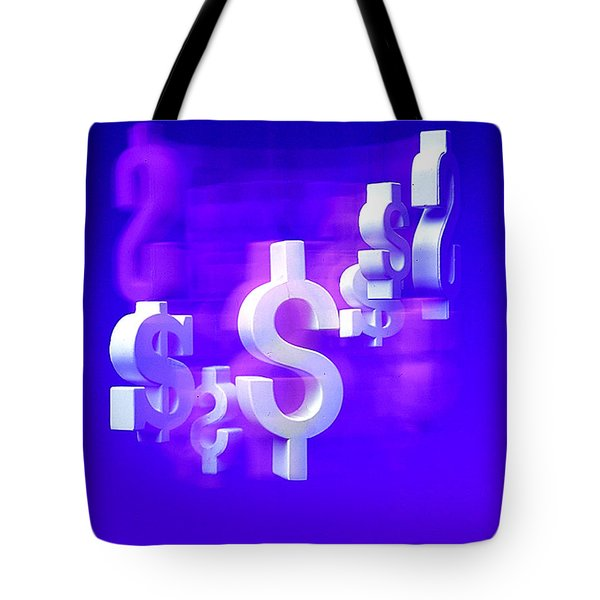 Money Problems Tote Bag