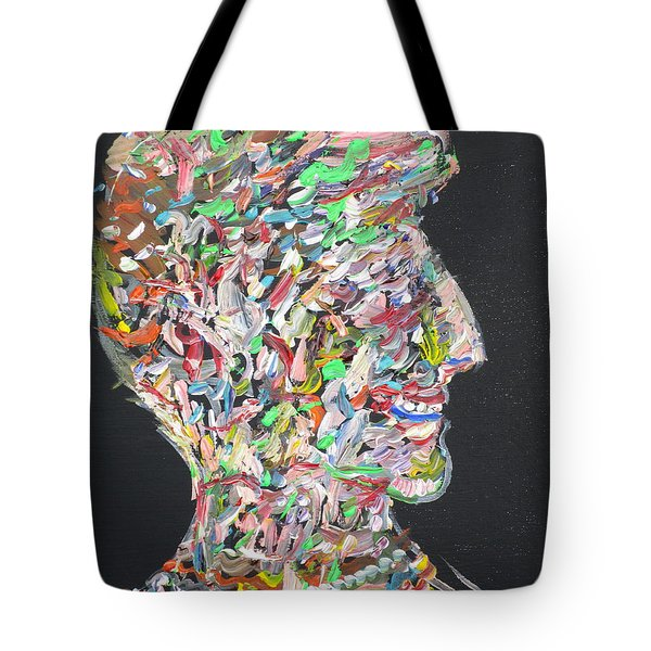 Tote Bag featuring the painting Money,sex And Power by Fabrizio Cassetta