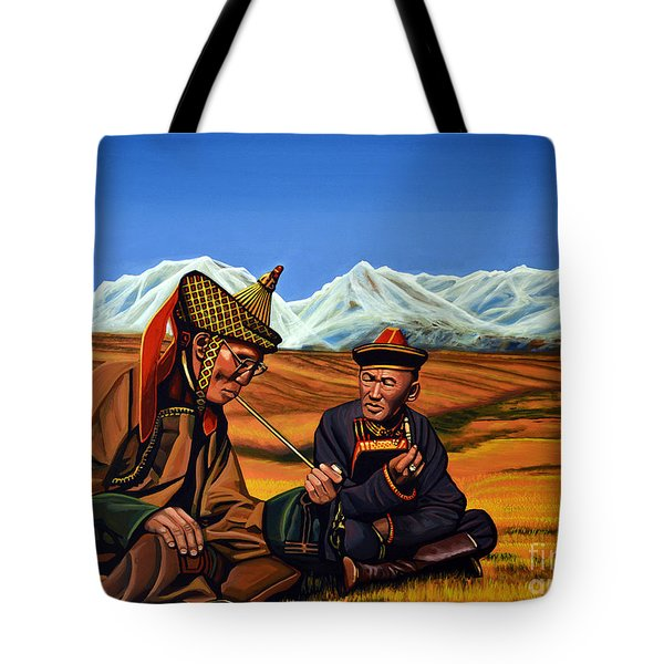Mongolia Land Of The Eternal Blue Sky Tote Bag