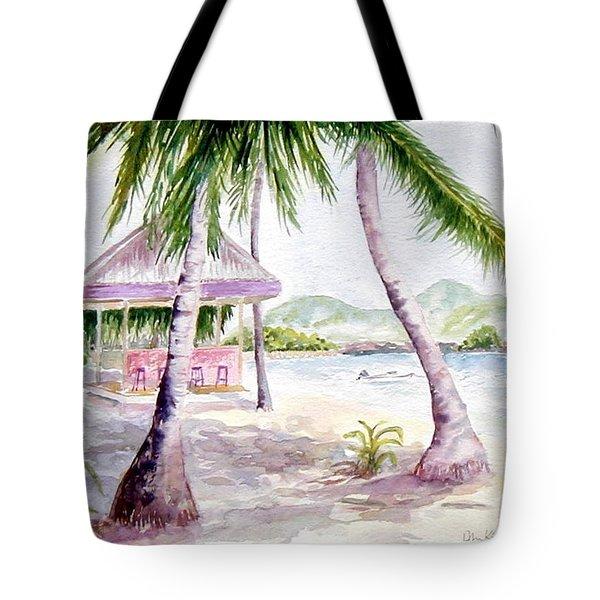 Mongoose Beach Bar Tote Bag