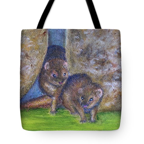 Mongoose #511 Tote Bag by Donald k Hall