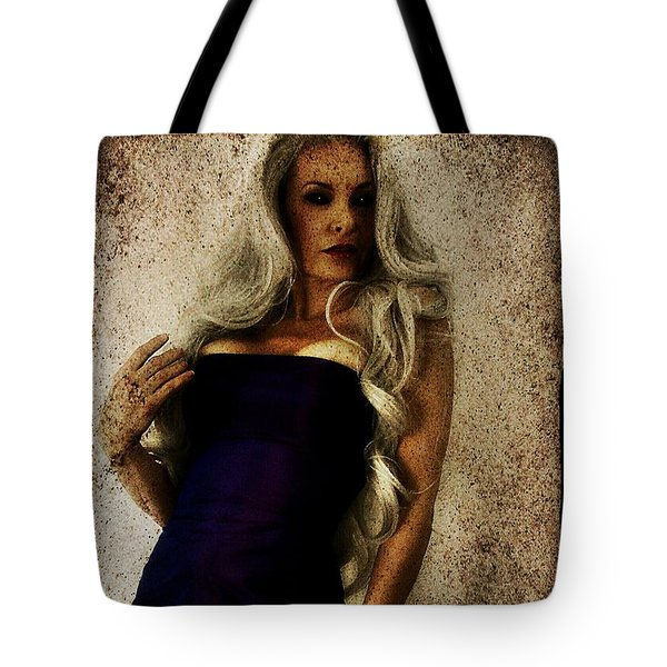 Tote Bag featuring the digital art Monique 2 by Mark Baranowski