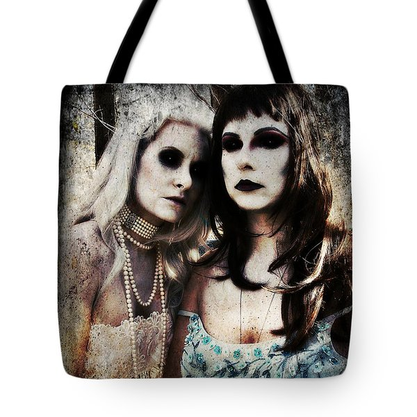 Monique And Ryli 1 Tote Bag by Mark Baranowski