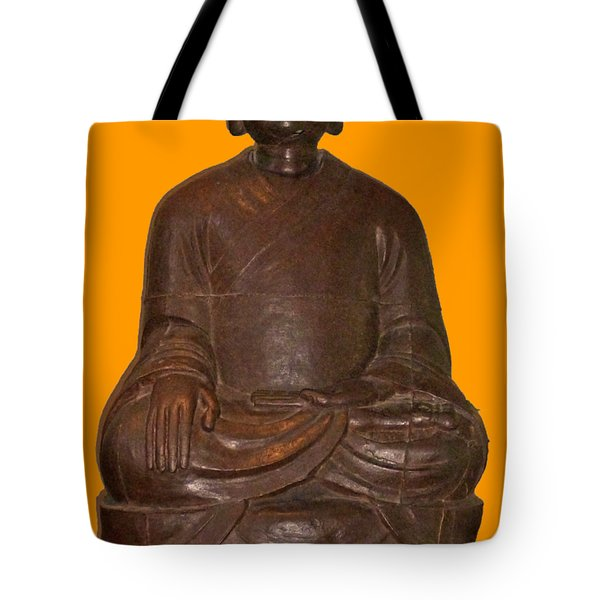 Monk Seated Tote Bag