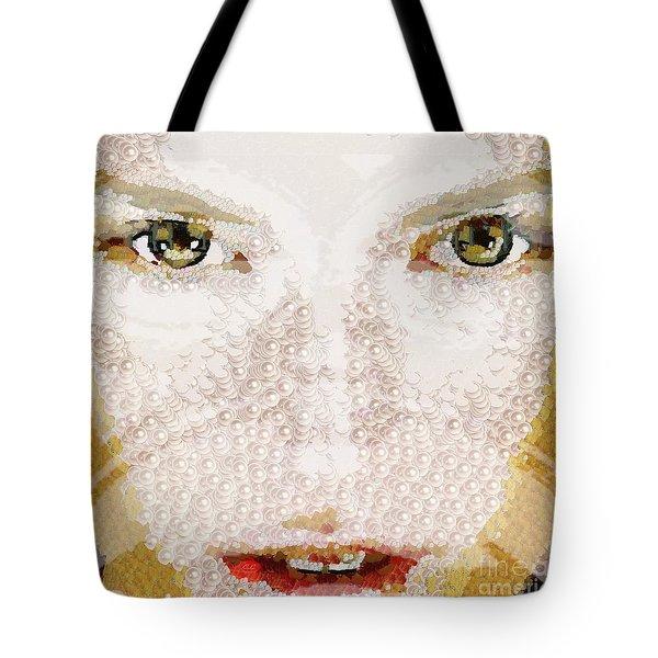 Monkey Glows Tote Bag by Catherine Lott